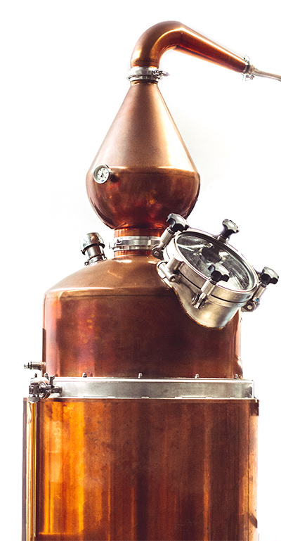 image of Juno Gin's still used for distilling their award winning gin